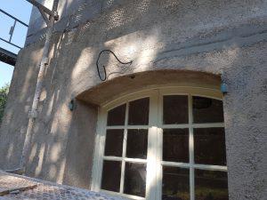 Installation électrique éclairage extérieur