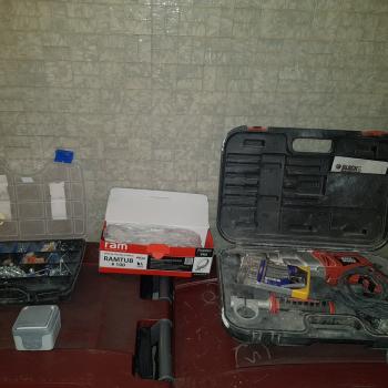 Aménagement d'un espace de travail pour les outils de travail